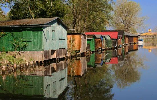 Hausboot in Mecklenburg und Brandenburg