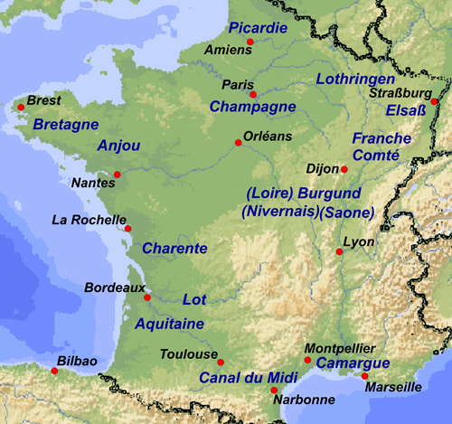 About Tours France