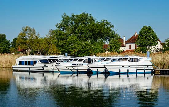Hausboot mieten in Frankreich: Charterboote
