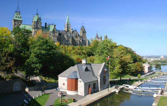 Kanada - Rideau Canal bei Ottawa