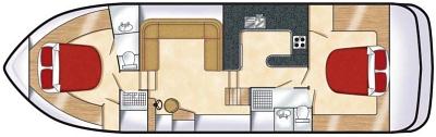 royal mystique mieten hausboot von le boat. Black Bedroom Furniture Sets. Home Design Ideas