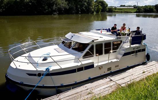 Hausboot auf dem Canal du Midi
