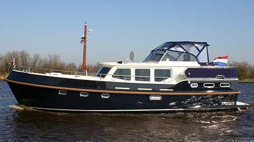Hausboot Argos aus der Flotte Veldman