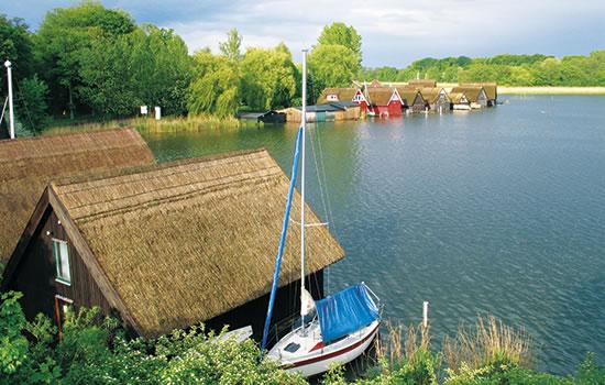 Hausboot-Törns Mecklenburger Seenplatte