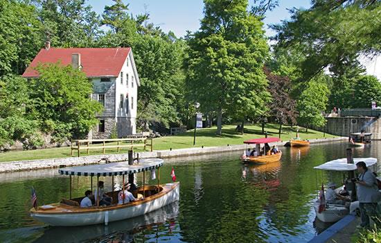 Schleusenhaus am Rideau Kanal