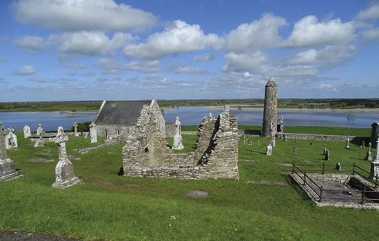 Ruinen der Klostersiedlung