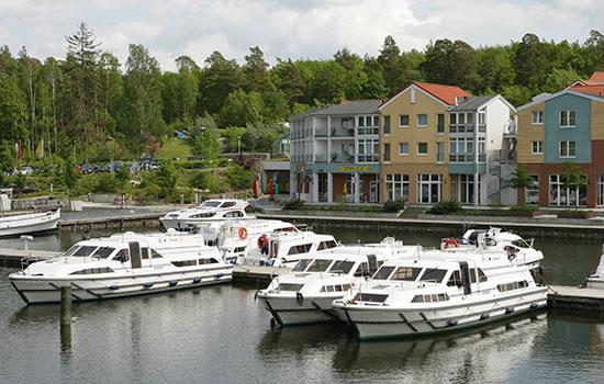 Hausboot Caprice in Mecklenburg
