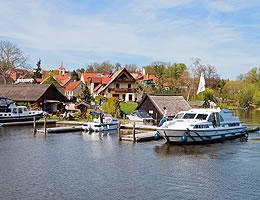 Hausboot-Revier Mecklenburger Seenplatte