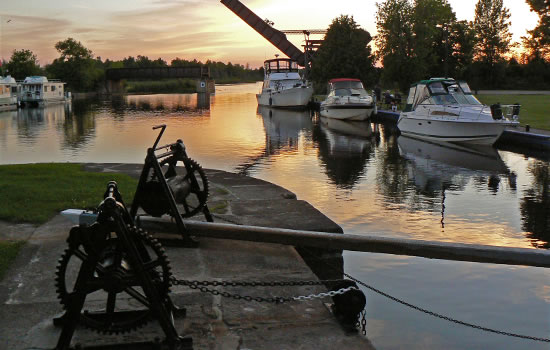 Bootsidylle auf dem Rideau Canal