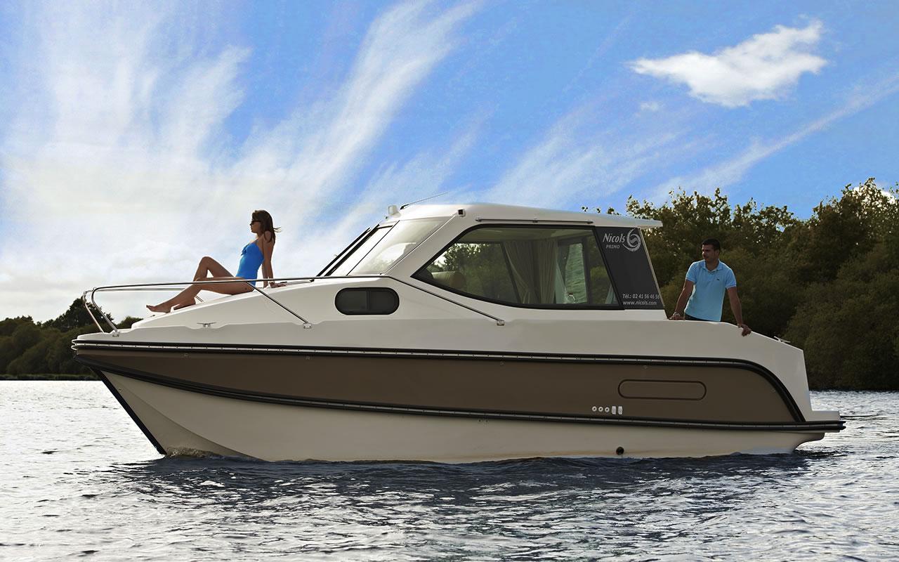 Nicols Primo - Hausboot für 2 bis 4 Personen