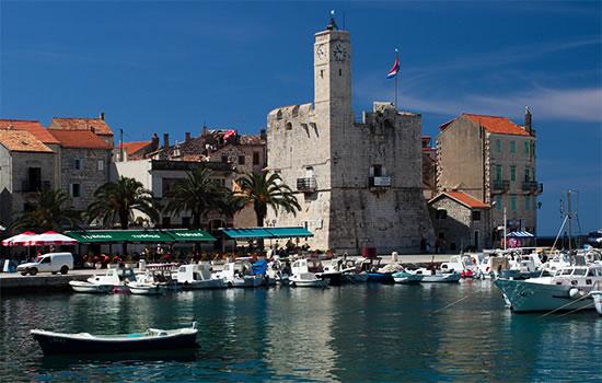 Yachtcharter - Hafen in Kroatien
