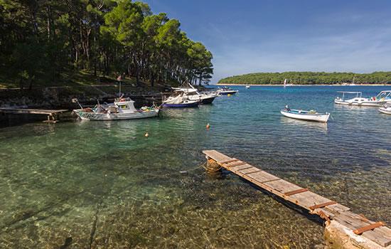 Segelyachten in Kroatien