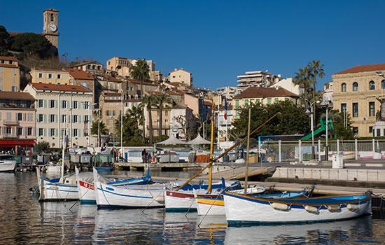 Yachtcharter cote d'Azur - Infos zum Segelrevier
