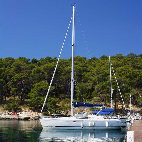 Charteryacht in Kroatien