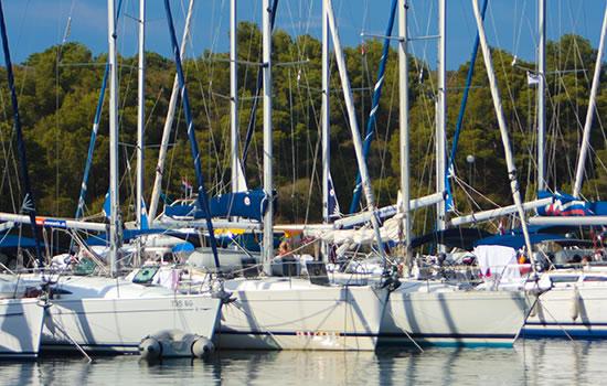 Yachtcharter - Segelyachten in Kroatien