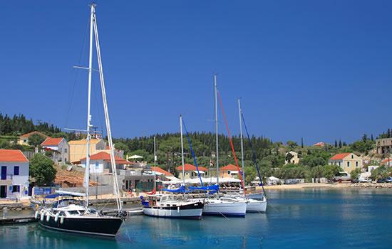Yachtcharter - Segelyachtzen in Griechenland