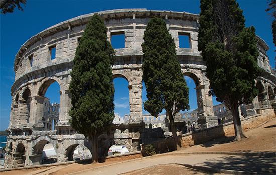 Pula - römische Arena