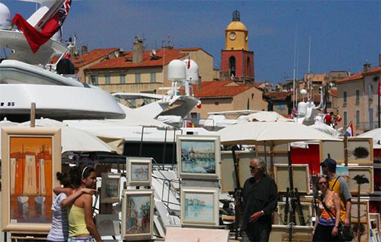 Yachtcharter - Cote d'Azur - Mittelmeerküste